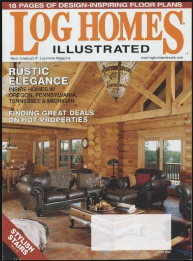Media Scan for Log Homes Illustrated