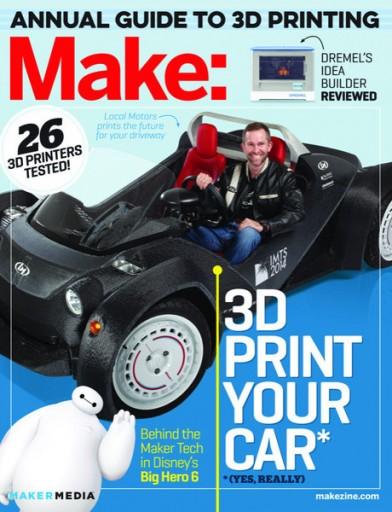 Media Scan for Make Magazine