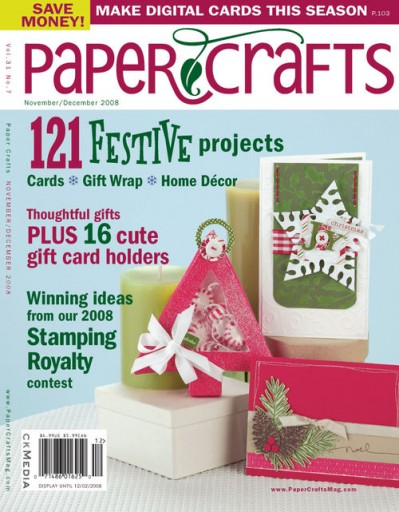 Media Scan for Paper Crafts Magazine