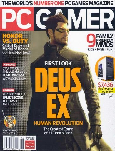 Media Scan for PC Gamer