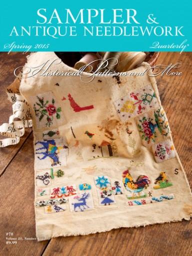 Media Scan for Sampler & Antique Needlework Quarterly