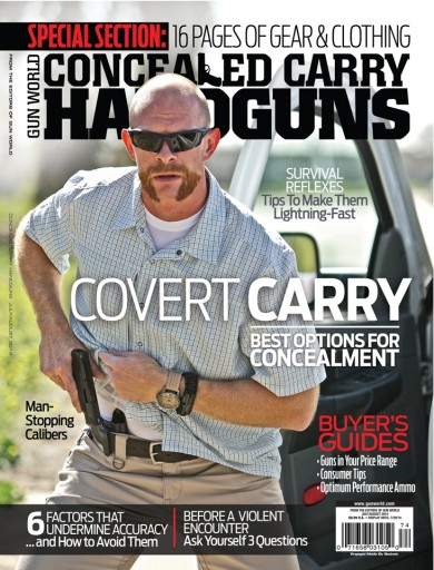 Media Scan for Gun World Concealed Carry Handguns