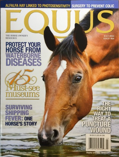 Media Scan for Equus Magazine