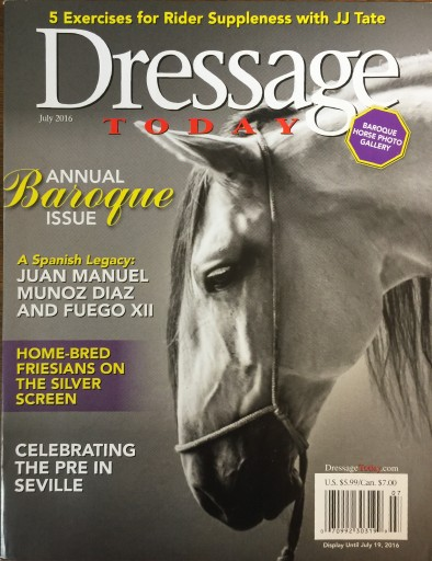 Media Scan for Dressage Today