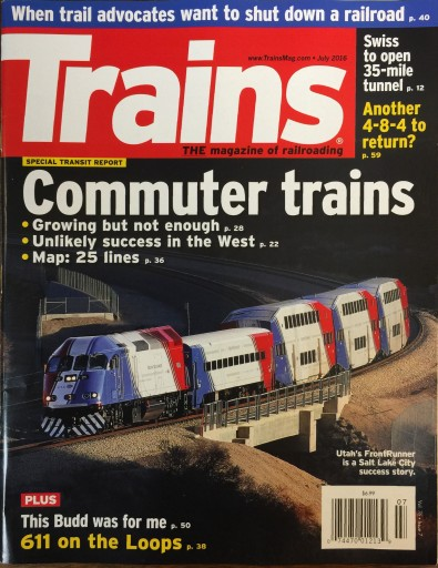 Media Scan for Trains Magazine