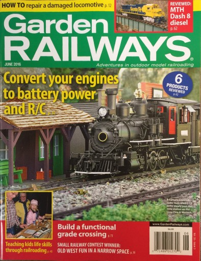 Media Scan for Garden Railways Magazine