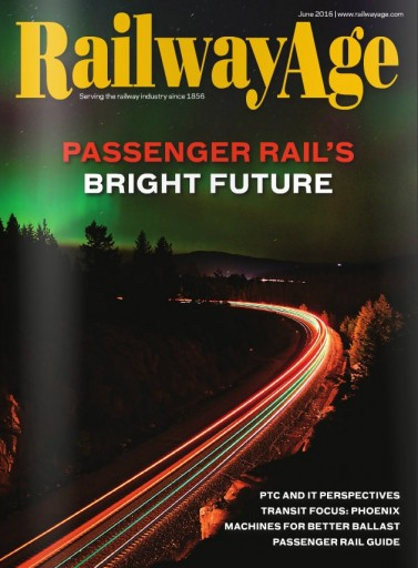 Media Scan for Railway Age Magazine