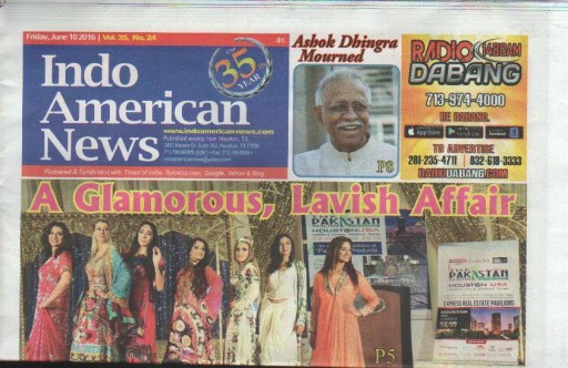 Media Scan for Indo American News