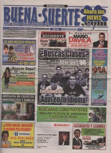 Media Scan for Buena Suerte - Austin