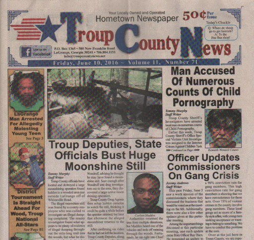 Media Scan for Troup County News