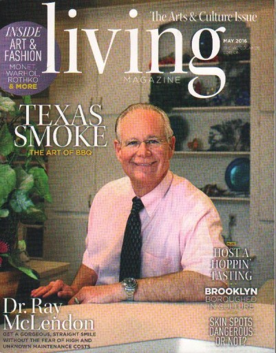 Media Scan for Living Magazine