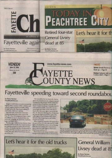 Media Scan for Fayette County News