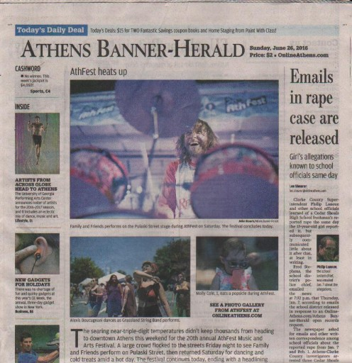 Media Scan for Athens Banner Herald