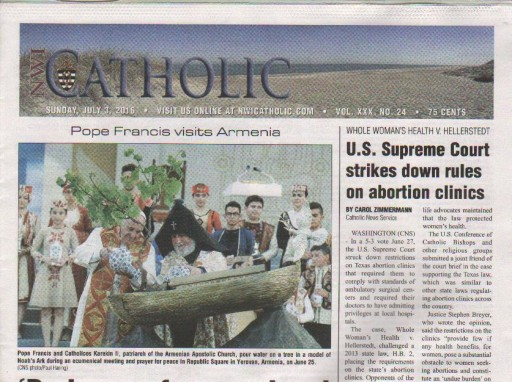 Media Scan for Northwest Indiana Catholic