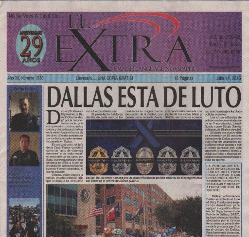 Media Scan for El Extra - Dallas