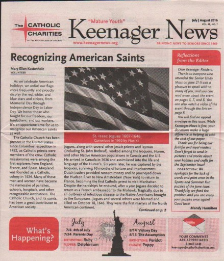 Media Scan for Keenager News