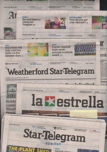 Media Scan for Fort Worth Star-Telegram