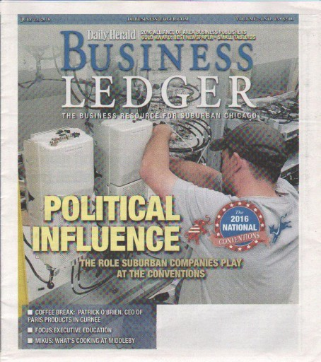 Media Scan for Chicago Business Ledger