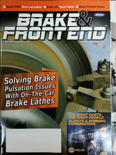 Media Scan for Brake & Front End