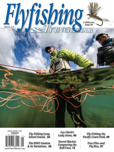 Media Scan for Flyfishing & Tying Journal
