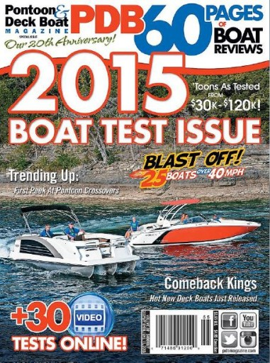 Media Scan for Pontoon and Deck Boat Magazine