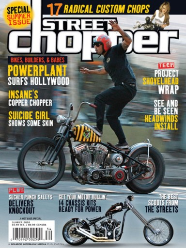 Media Scan for Street Chopper Magazine