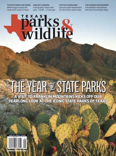 Media Scan for Texas Parks and Wildlife Magazine