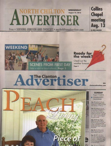 Media Scan for Clanton Advertiser
