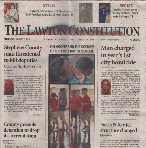 Media Scan for Lawton Constitution