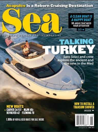 Media Scan for Sea Magazine