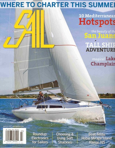 Media Scan for Sail Magazine