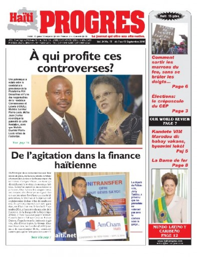 Media Scan for Haiti Progres