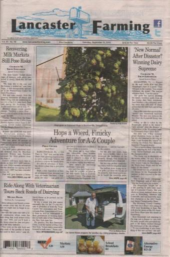 Media Scan for Lancaster Farming