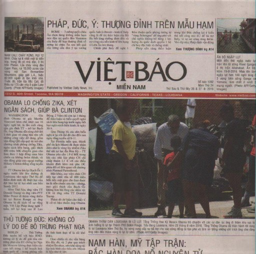 Media Scan for Viet Bao - Seattle
