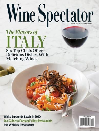 Media Scan for Wine Spectator