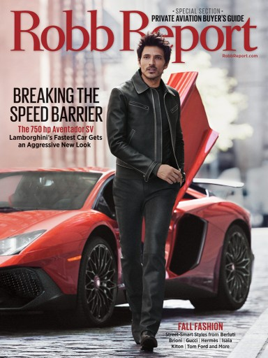 Media Scan for Robb Report