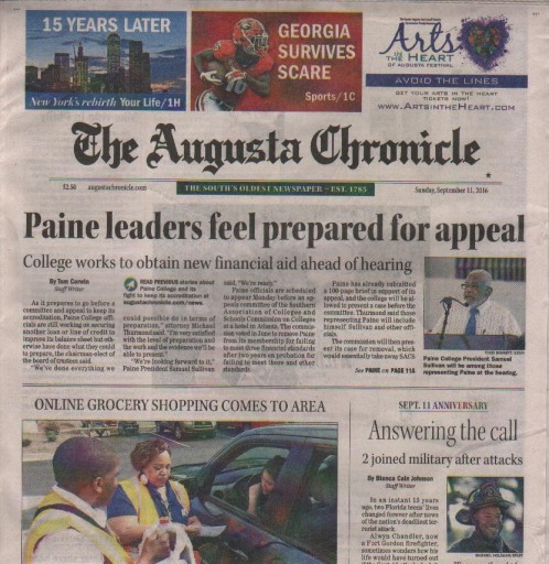 Media Scan for Augusta Chronicle