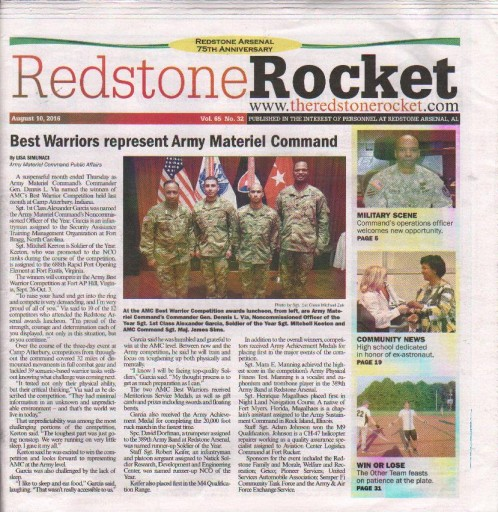 Media Scan for Redstone Rocket