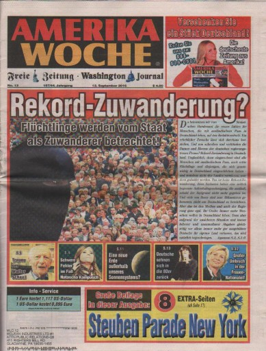 Media Scan for Amerika Woche