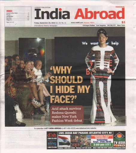 Media Scan for India Abroad