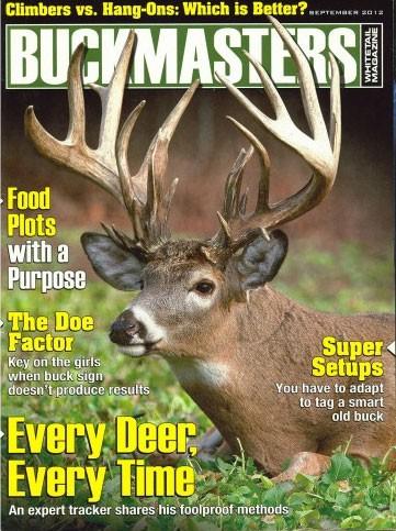 Media Scan for Buckmasters Magazine