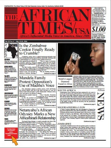 Media Scan for African Times
