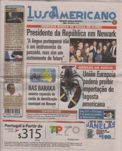 Media Scan for Luso Americano
