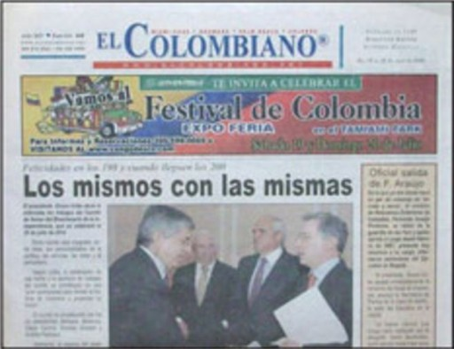Media Scan for El Colombiano- Fort Lauderdale