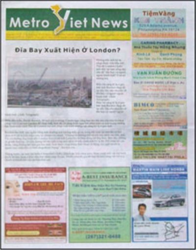 Media Scan for Metro Viet News