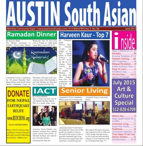 Media Scan for Austin South Asian