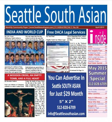Media Scan for Seattle South Asian
