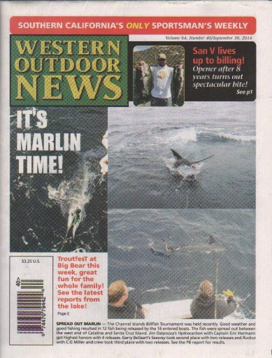 Media Scan for Western Outdoor News
