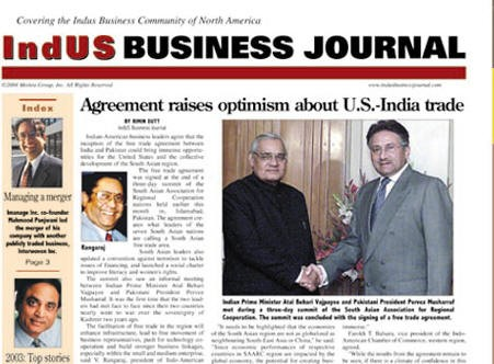 Media Scan for IndUS Business Journal