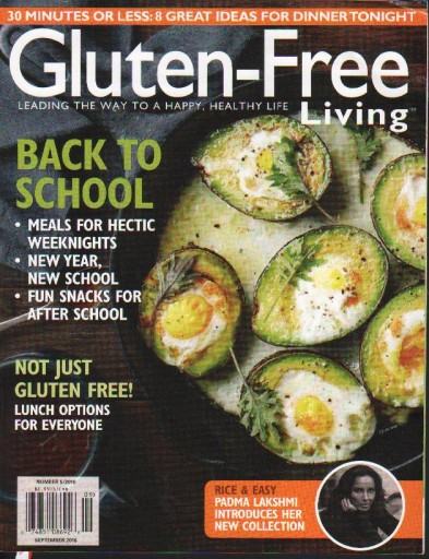 Media Scan for Gluten Free Living